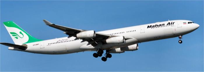 flyg till teheran med iran air