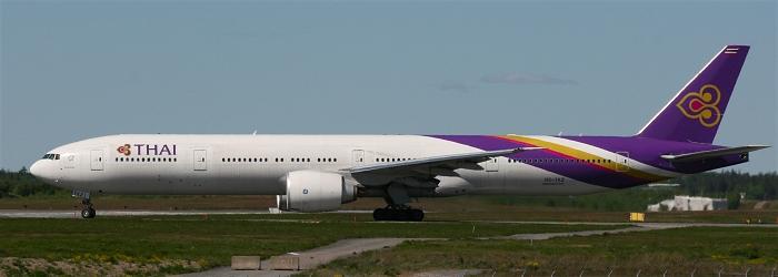 flyg från stockholm till thailand